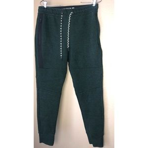 AE FLEX | Mens Green Jogger Sweatpants Small